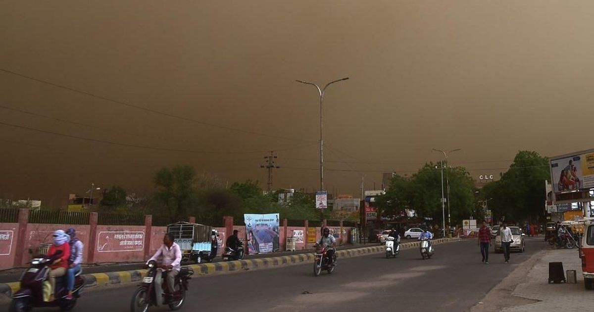 Over 100 dead, dozens injured as squalls, sandstorms hit parts of North India