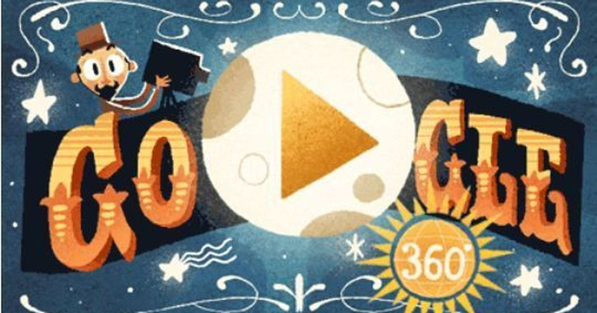 Google celebrates life of iconic filmmaker Georges Méliès with first virtual reality doodle