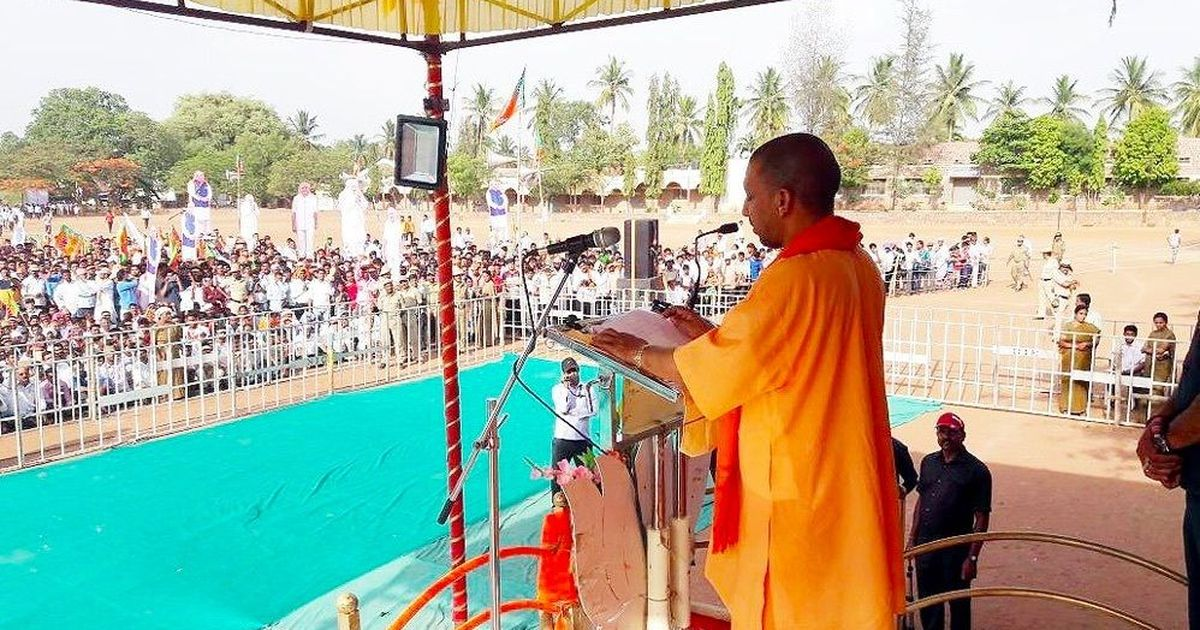 Adityanath cuts short election campaign in Karnataka amid criticism over storm deaths in UP