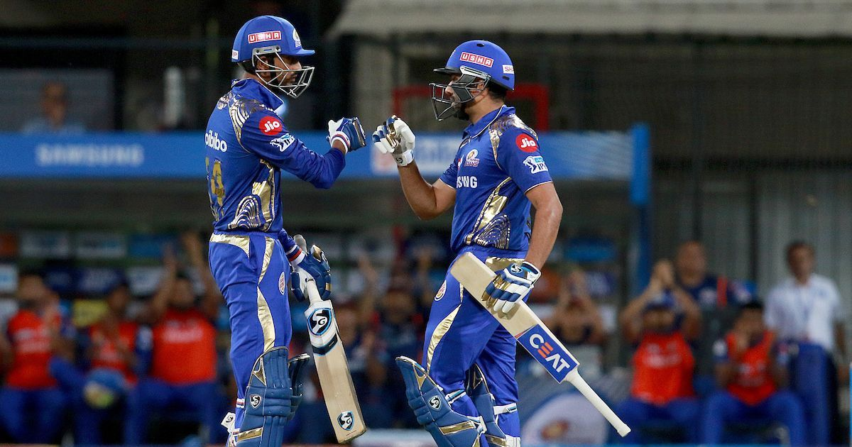 Rohit Sharma, Krunal Pandya finish KXIP in style to keep Mumbai Indians' IPL 2018 campaign alive
