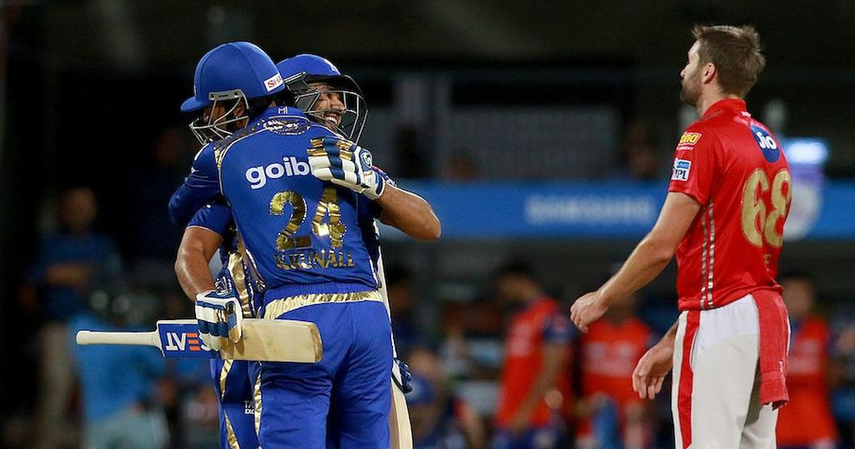 In a battle of mad scientists, Rohit Sharma's MI come out on top against R Ashwin's KXIP