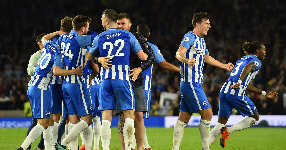 Mourinho slams lack of desire after Brighton beat Manchester United to avoid relegation