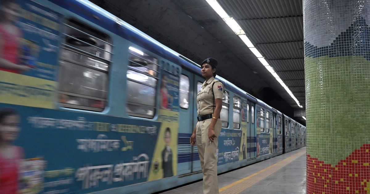 Kolkata police file suo motu FIR in alleged moral policing incident in a metro train