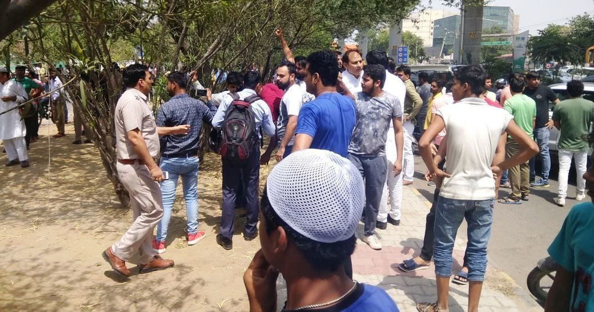 Gurgaon namaaz disruption brings majoritarian bullying  in plain sight of aspirational India
