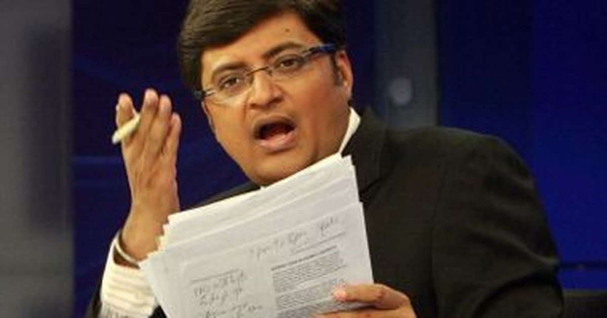 Arnab Goswami booked by Maharashtra police for allegedly abetting suicide of interior designer