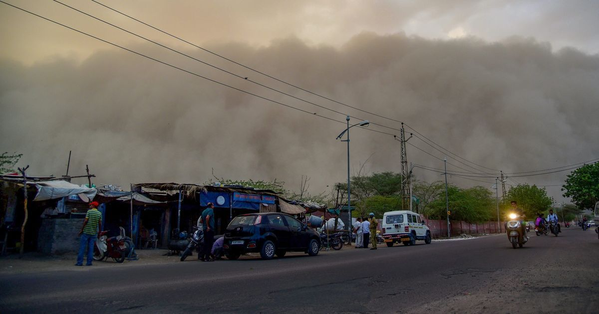 Dust storms hit parts of northern India, IMD warns of thunderstorms in over 20 states
