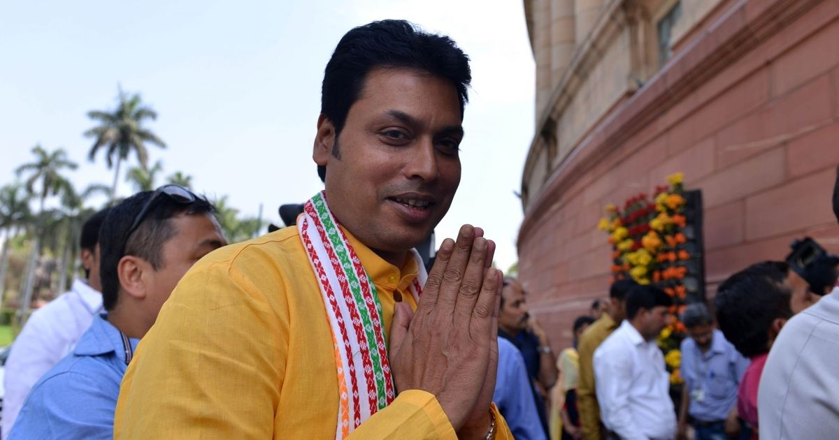 Tripura government demolishes illegal structures of Congress and CPI(M), triggers a row