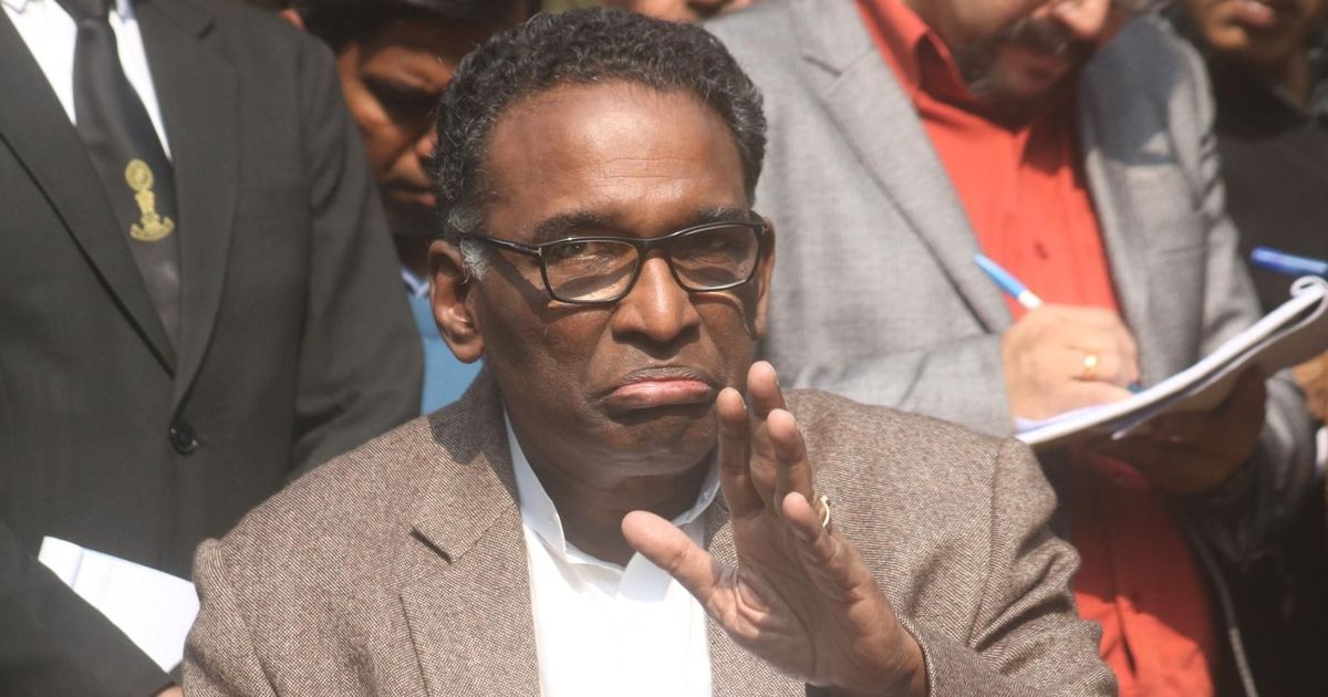Supreme Court judge Jasti Chelameswar refuses to attend his farewell on May 18