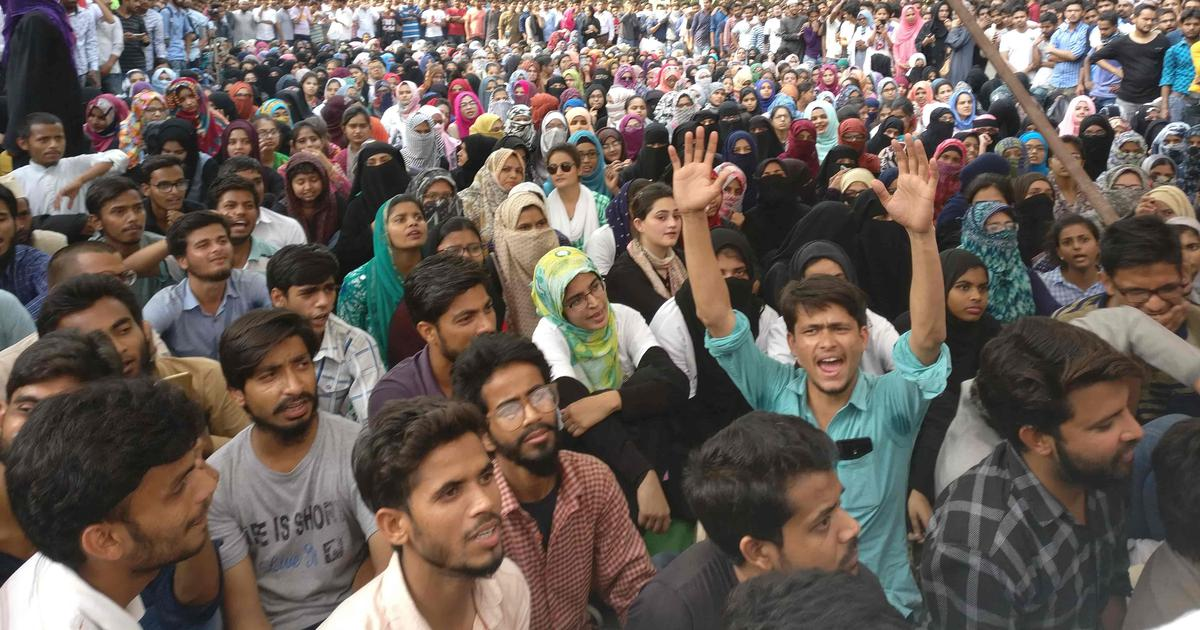 A week after attack by Hindutva groups, AMU students are wary but determined to pursue justice
