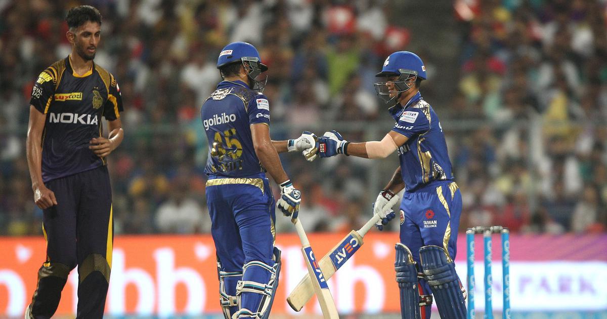 Ishan Kishan's 21-ball 62 powers Mumbai Indians to 102-run win over Kolkata Knight Riders