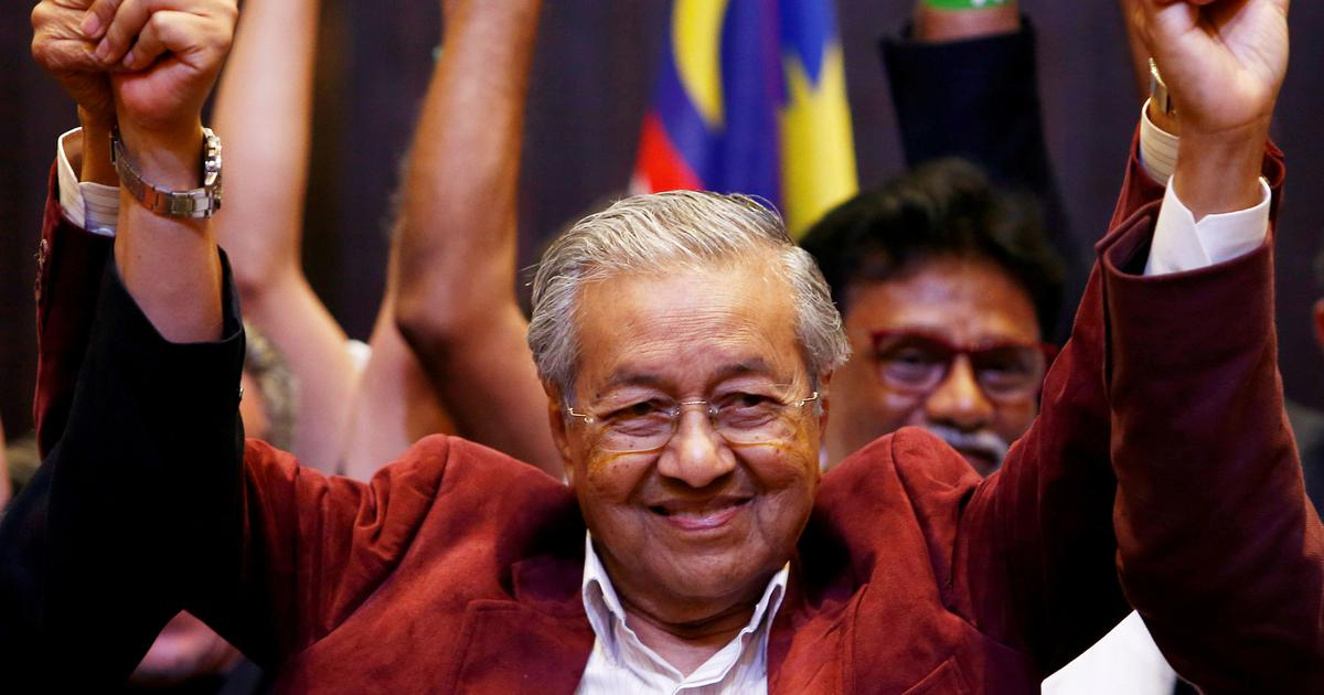 Malaysia's opposition alliance wins historic election