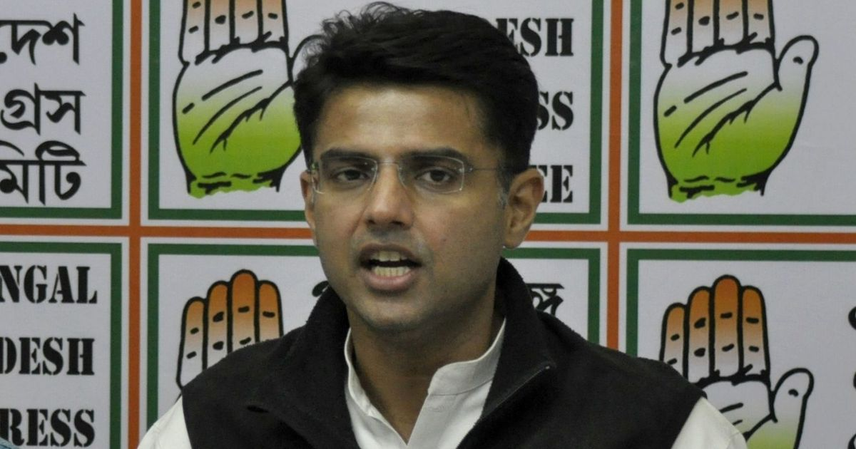 Rajasthan: Chapter calling Tilak 'father of terrorism' is an insult to nation, says Sachin Pilot