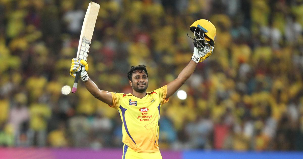 Ambati Rayudu's first T20 ton helps CSK end SRH's unbeaten streak and inch closer to play-offs