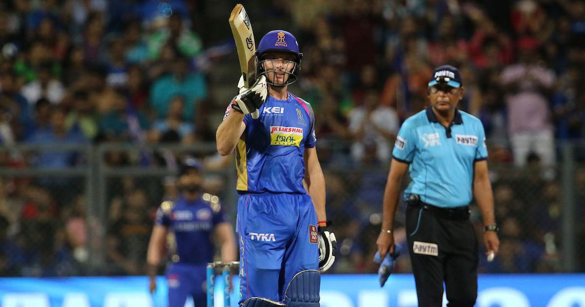 IPL 11: Buttler's unbeaten 94 powers RR to seven-wicket win over MI, surge to fifth in table