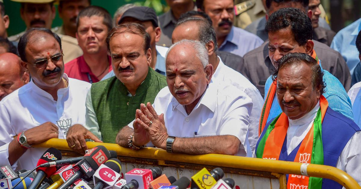 Karnataka: BJP leader Yeddyurappa to take oath as CM today after SC refuses to stay swearing in