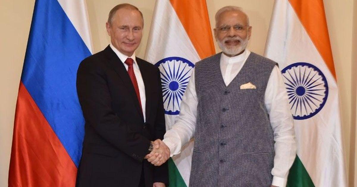 PM Modi will attend informal summit with Russian President Vladimir Putin in Sochi on May 21