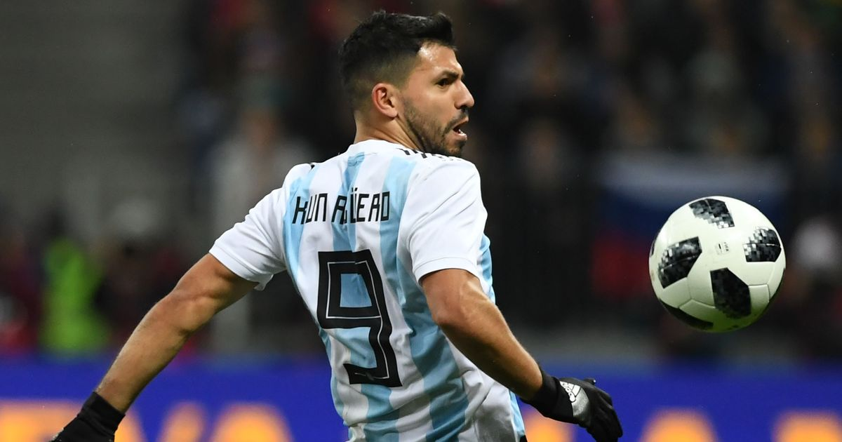 Argentina's Sergio Aguero ready to play in 'best World Cup' as he recuperates from knee injury