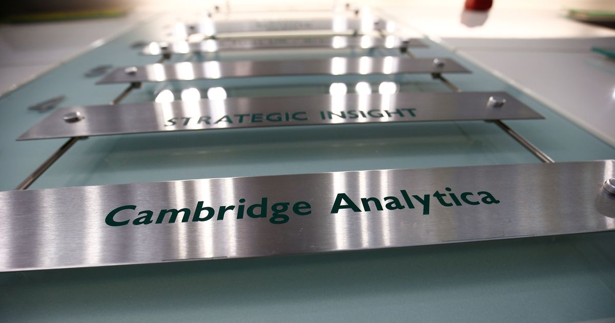 Cambridge Analytica files for bankruptcy after Facebook data breach scandal