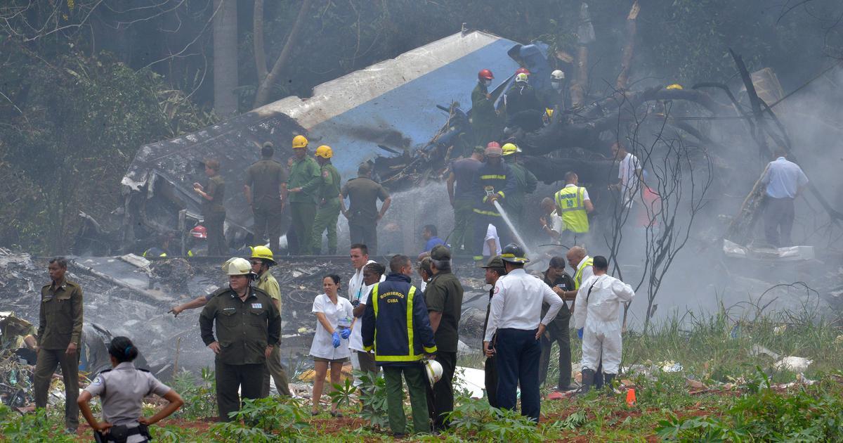 Cuba: At least 100 dead in plane crash near Havana airport, only three survivors