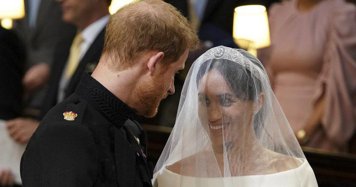 In photos: Prince Harry and actor Megan Markle say 'I do' in royal ceremony at Windsor Castle