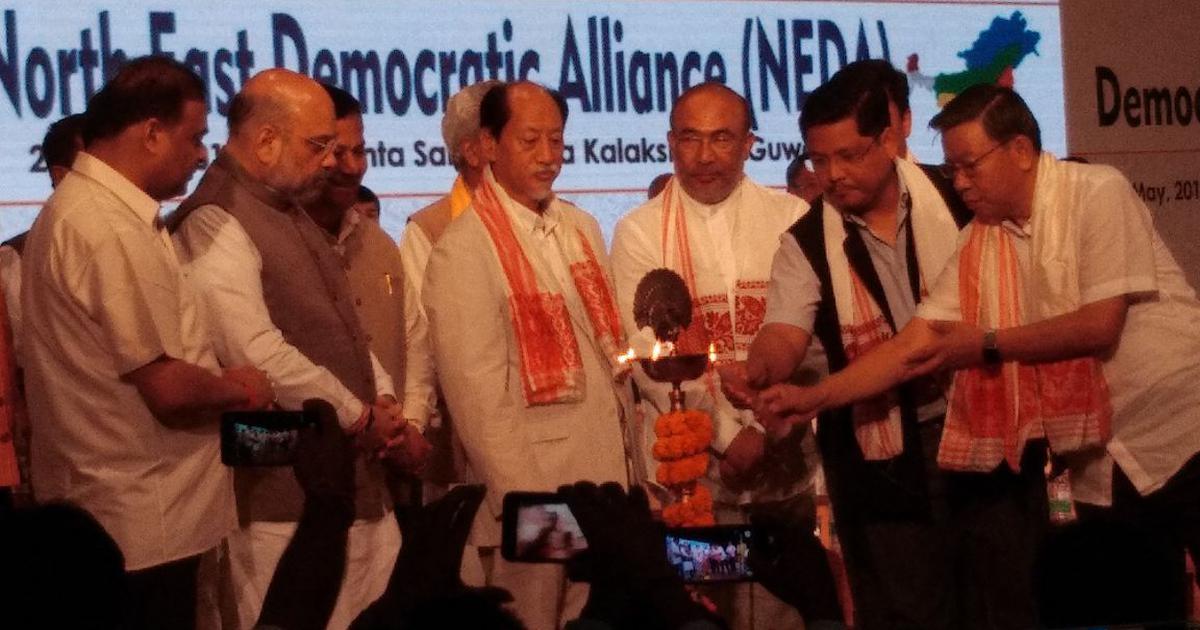 Karnataka debacle looms large in meeting of BJP's coalition partners in North East