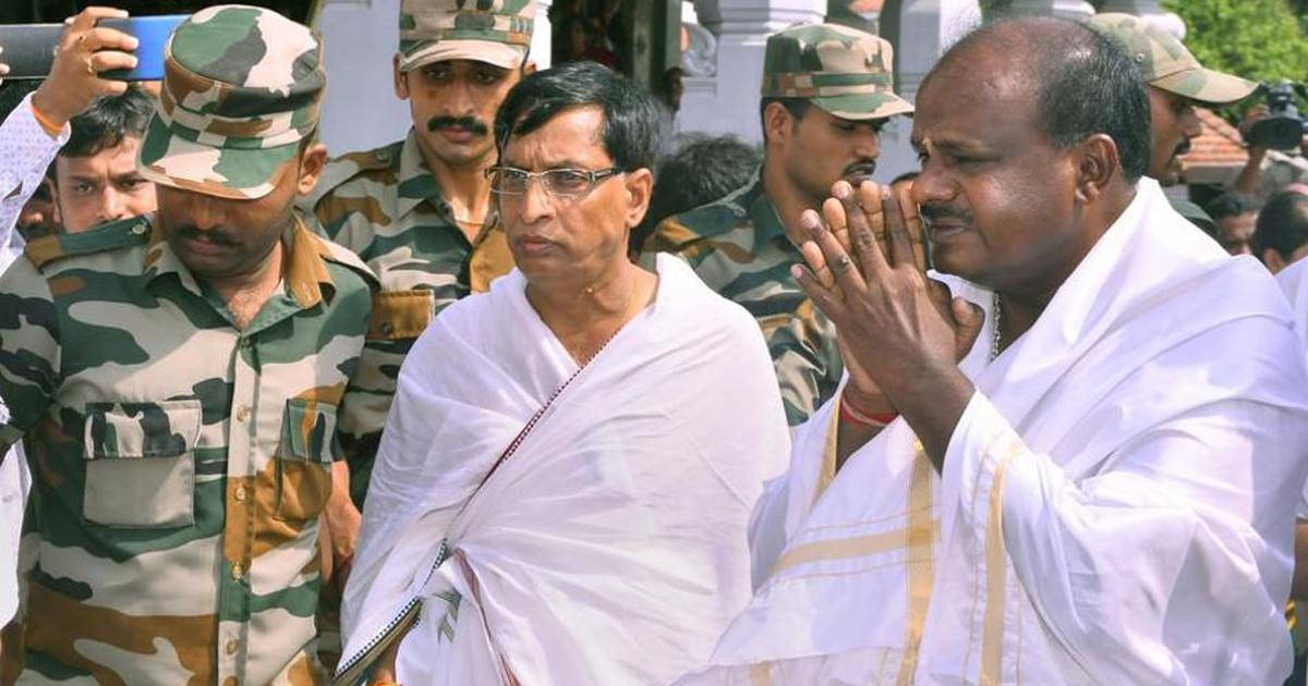 Karnataka: Hours before swearing-in as CM, Kumaraswamy says party won't go back on pre-poll promises