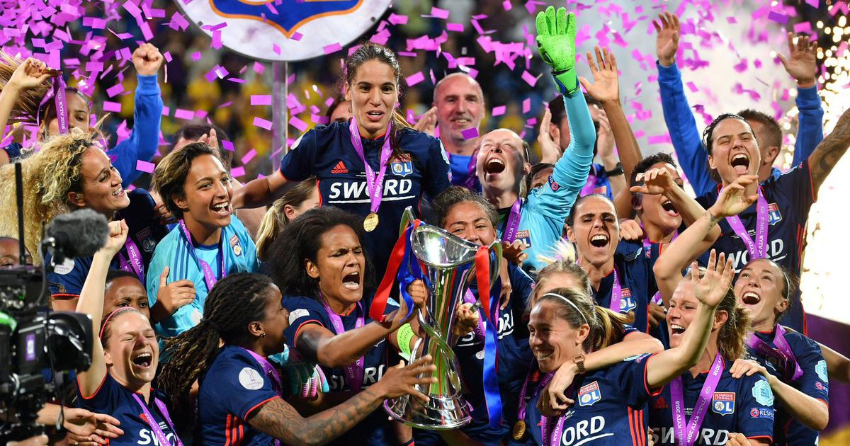 Olympique Lyonnais win women's Champions League, beating Wolfsburg 4-1 in  Kiev