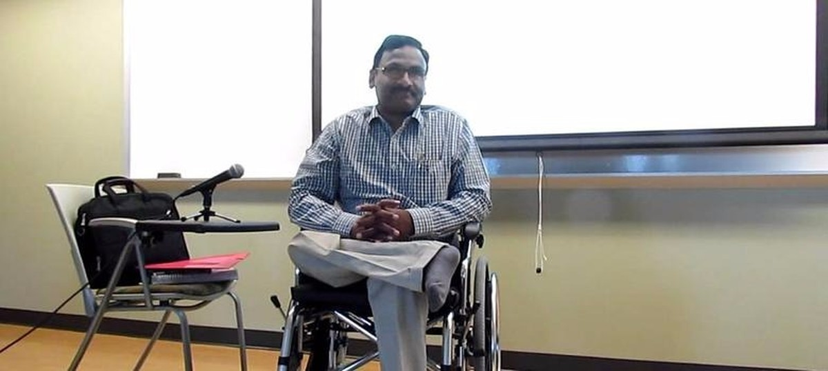 Why is GN Saibaba being denied adequate medical care and a life of dignity in prison?
