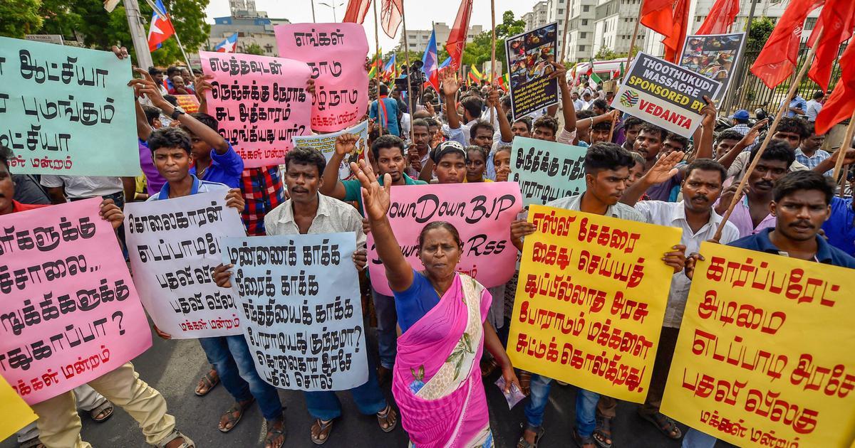 Thoothukudi deaths: Madras HC issues notice to CBI on plea seeking investigation into police firing