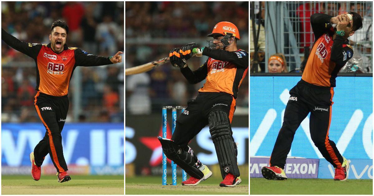 Rashid's here, Rashid's there, Rashid's everywhere, as he single-handedly takes SRH into IPL final