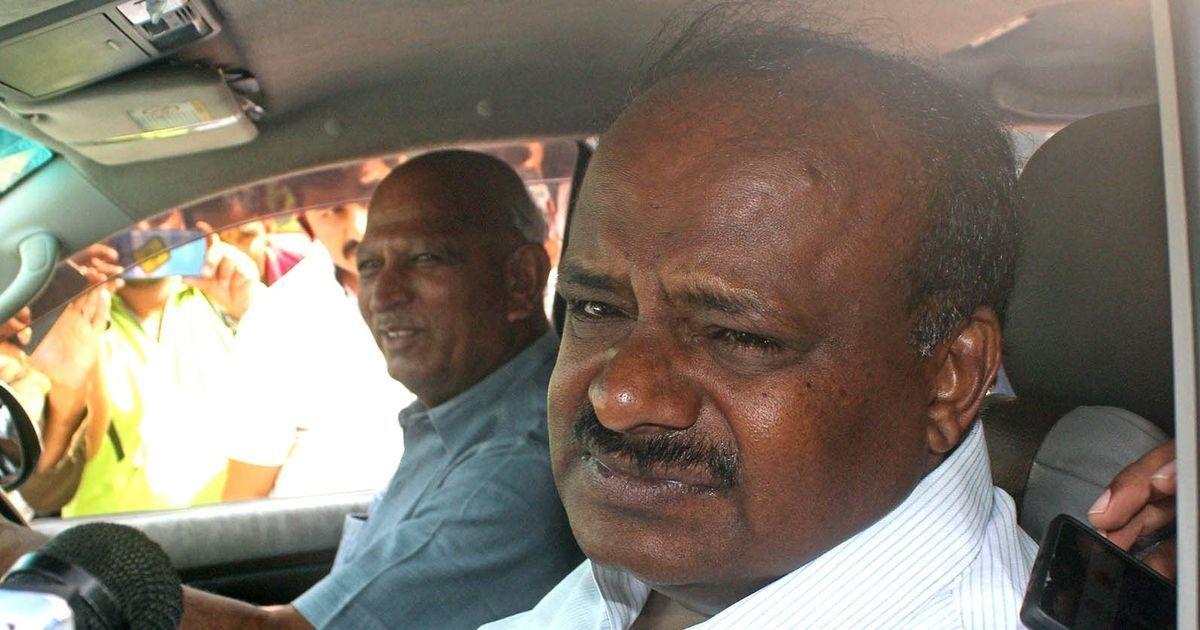Karnataka: Chief Minister Kumaraswamy says he is at Congress' mercy to waive farm loans