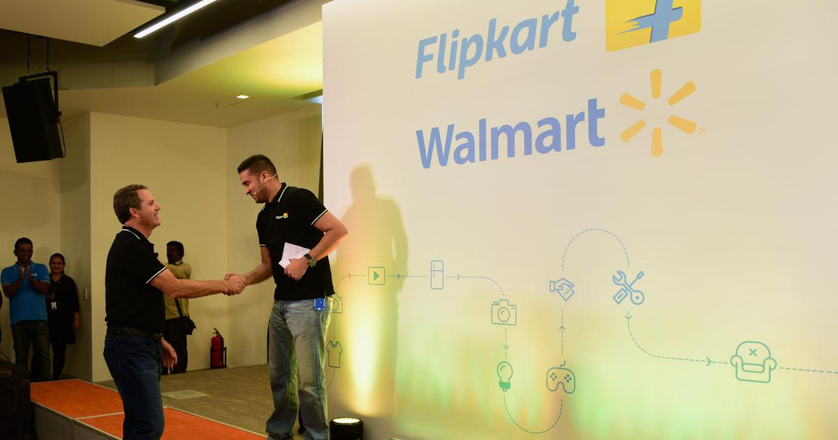 Traders' body moves Competition Commission of India against Walmart-Flipkart deal
