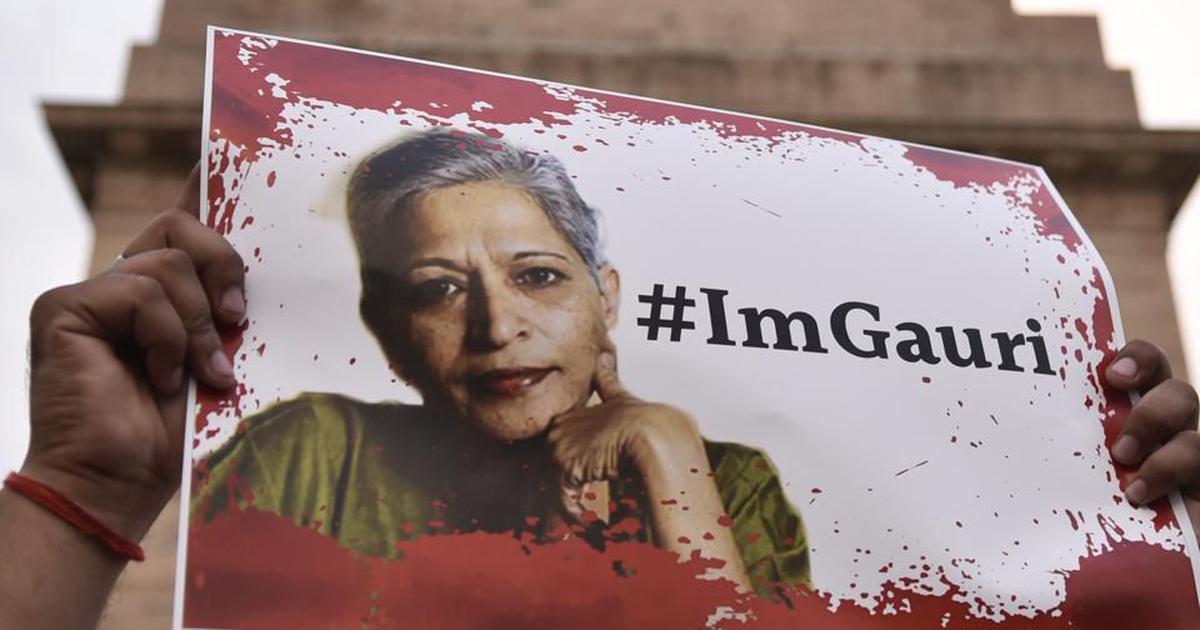 Gauri Lankesh murder: Accused Naveen Kumar helped killers procure bullets, say reports