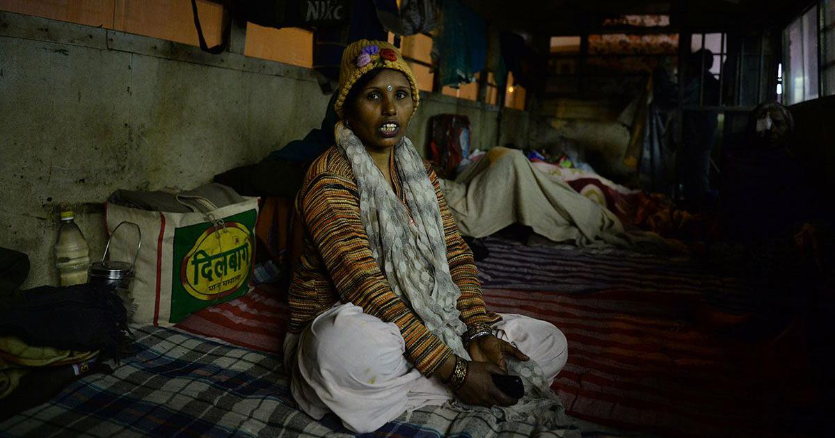 For homeless women in Delhi's night shelters, there's no respite from the soaring heat