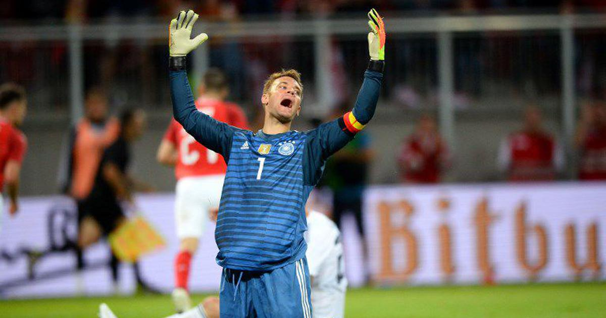 Manuel Neuer makes a comeback after eight months but Germany continues to struggle