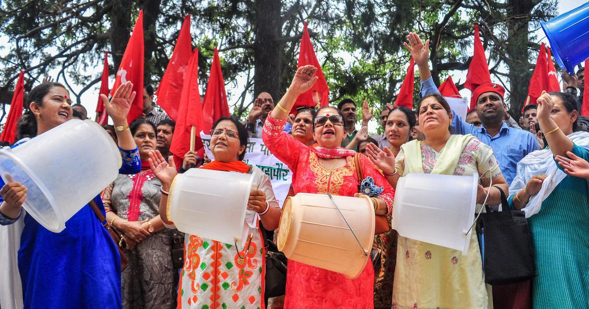 Shimla water crisis: Supply increased marginally but protests continue