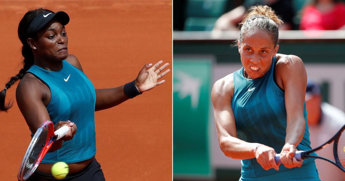 French Open, day 8, women's roundup: Madison Keys, Sloane Stephens book quarter-final berths