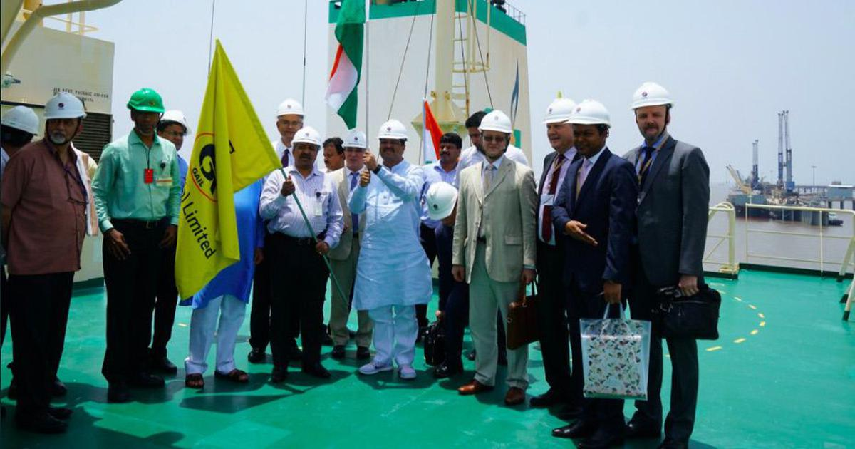 India begins import of Liquefied Natural Gas from Russia under 20-year deal