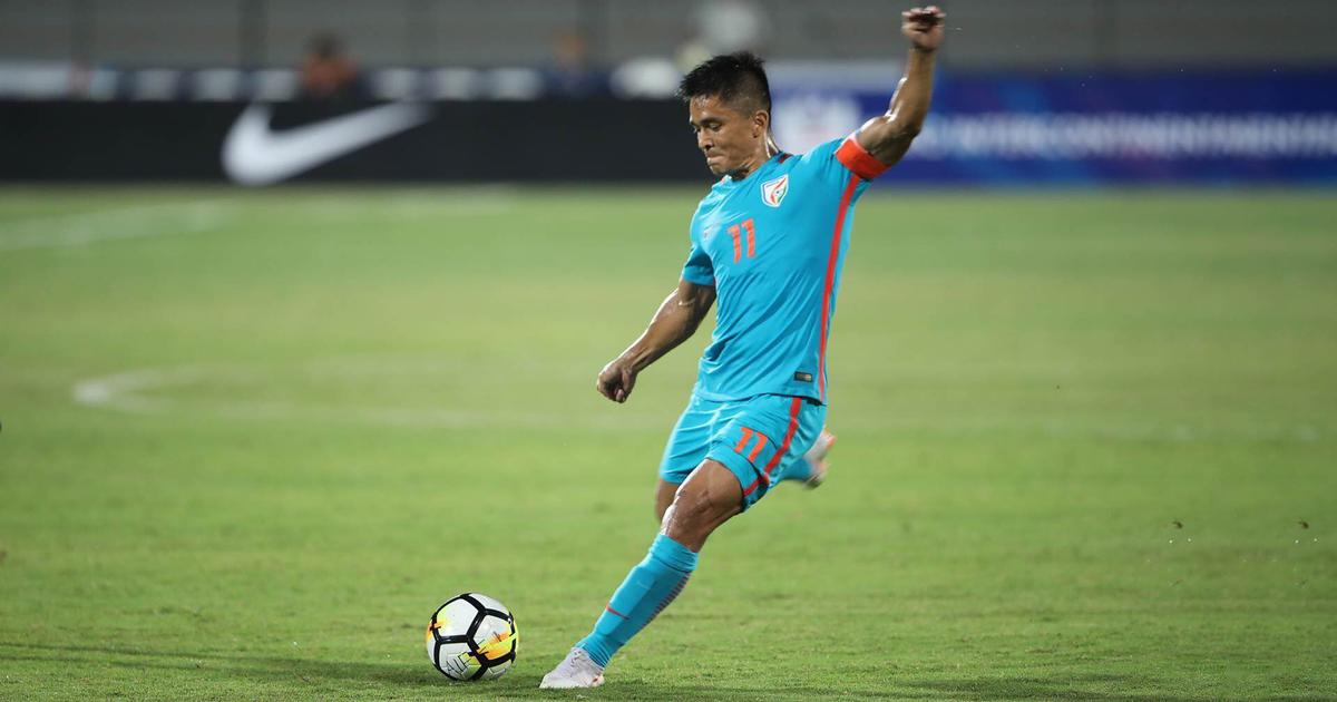 Indian footballer Sunil Chhetri doesn't count number of goals he scored in international football, he said, despite surpassing Lionel Messi.