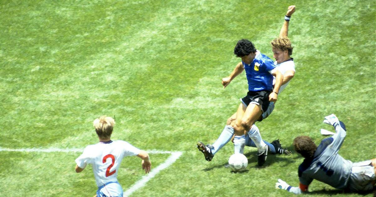 Fifa World Cup Moments Diego Maradona Shows His Wizardry In Dark Arts And Football During 1986