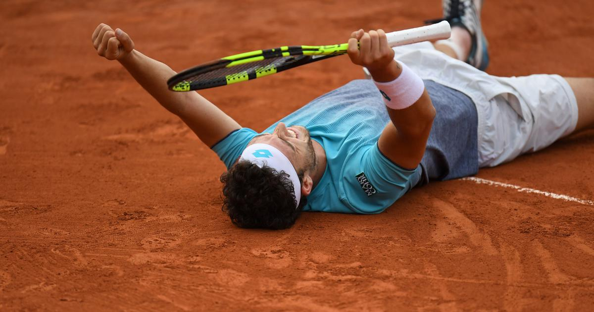 Enjoying a dream run at French Open, Cecchinato refuses to revisit fixing scandal from 2016