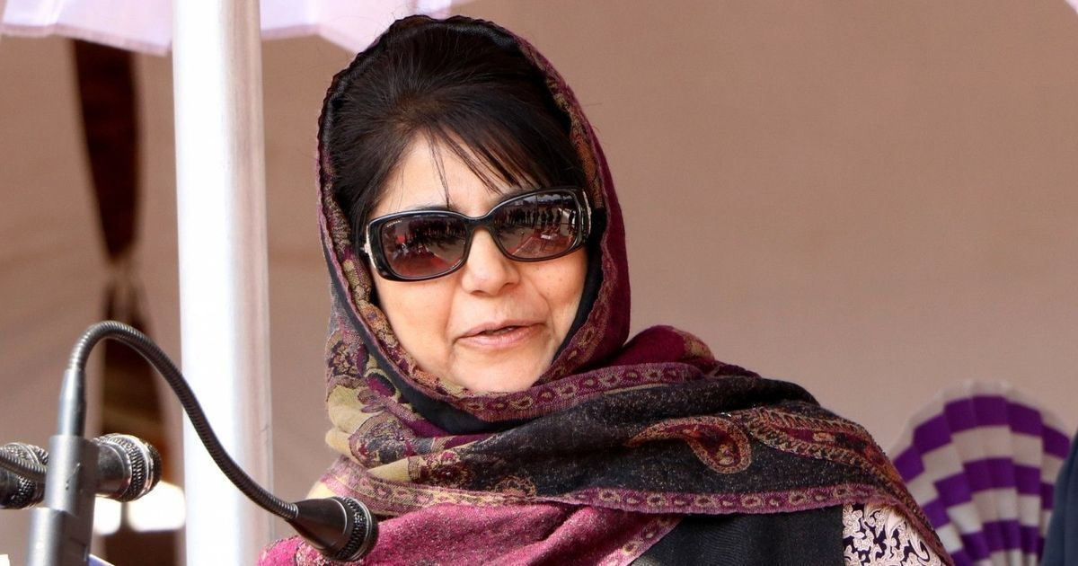 Militants are trying to sabotage Ramzan ceasefire, says J&K Chief Minister Mehbooba Mufti