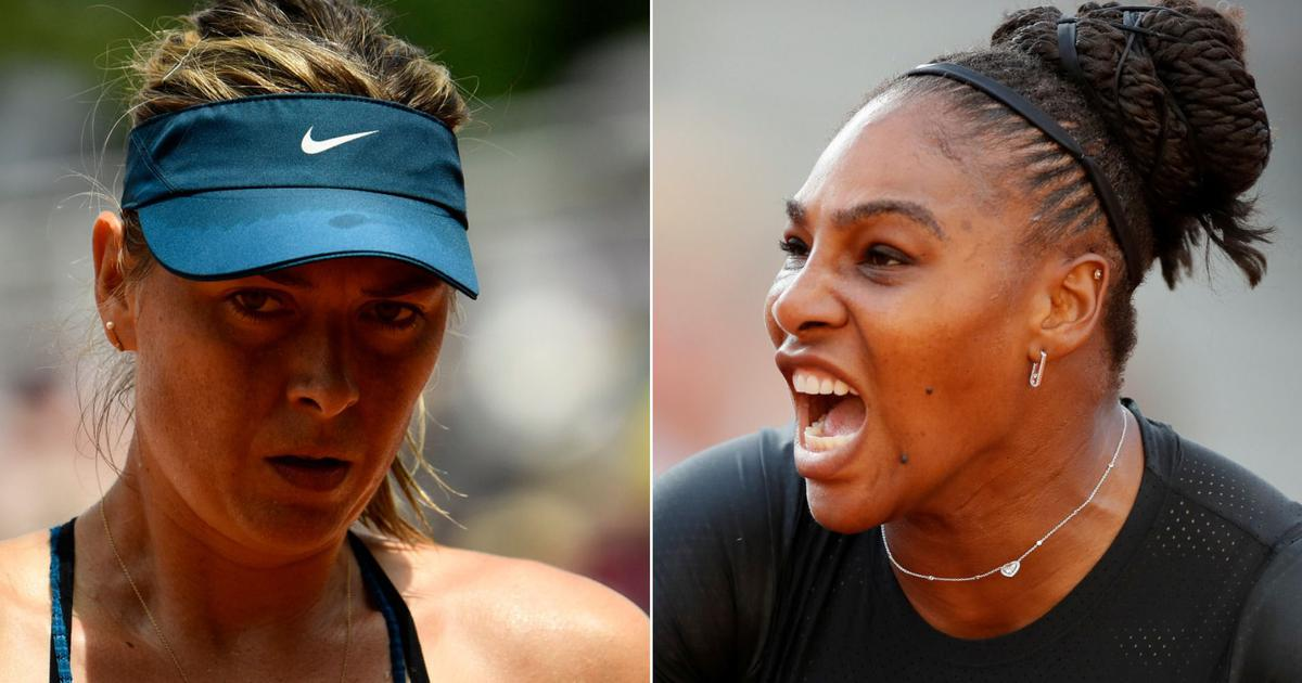 After French Open exit, Sharapova hits back at Serena over 'hearsay' claims in her autobiography