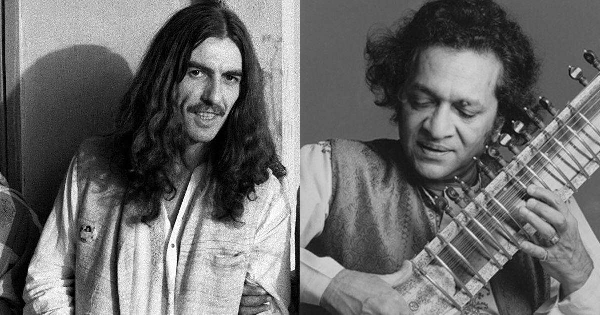 How an Indian man and his English wife introduced George Harrison to Ravi Shankar to create history