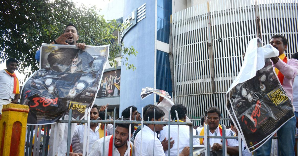 The big news: Protests mar screening of Rajinikanth's 'Kaala' in Karnataka, and 9 other top stories