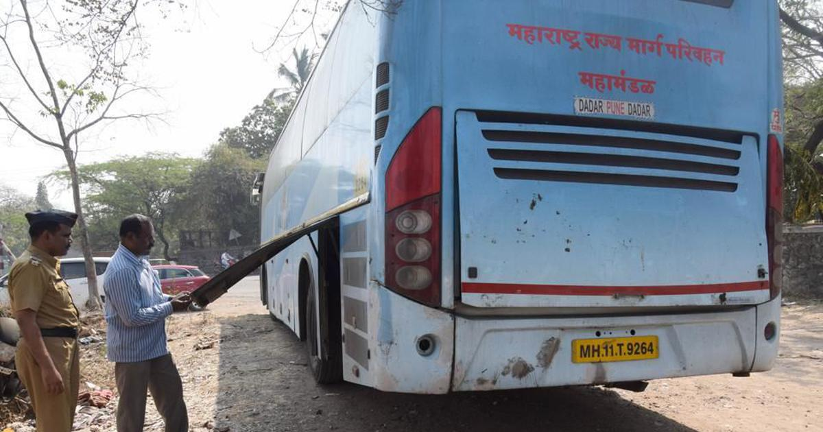 Maharashtra State Road Transport Corporation workers go on partial strike
