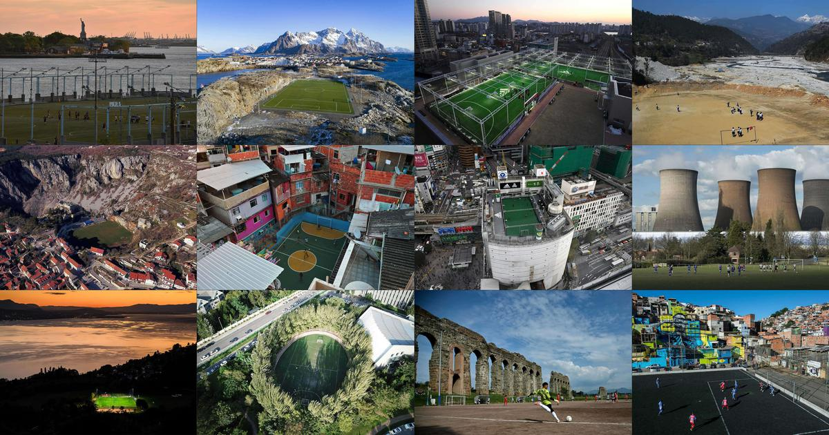 The world of football pitches – from Norway's Henninsvaer to Rio's Tavares Bastos