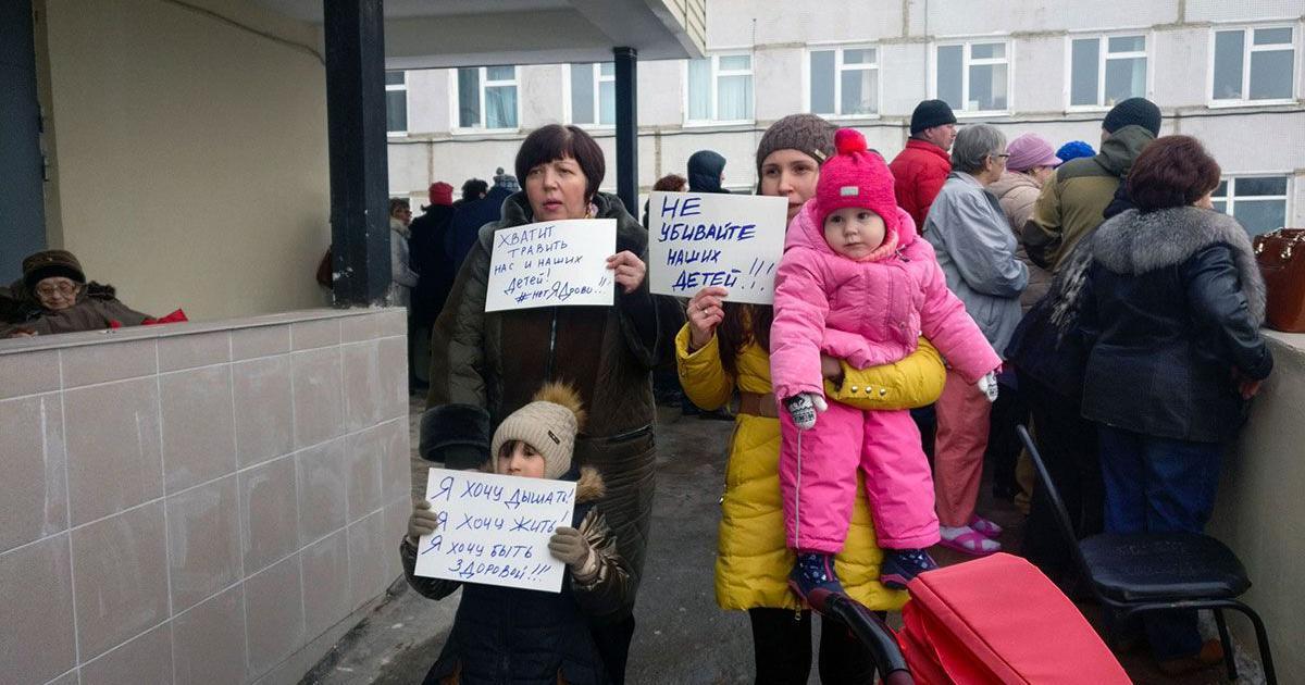 A garbage revolt underway in Russia could pose a stiff challenge to Putin's reign