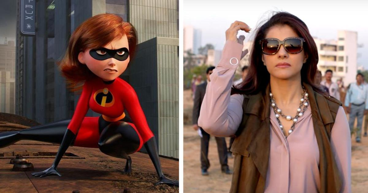'Weird but exciting': Kajol on voicing Elastigirl for 'Incredibles 2' in Hindi
