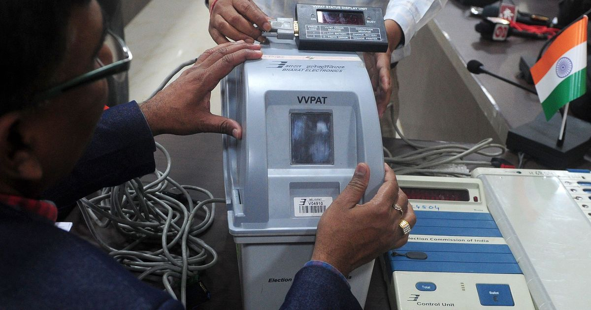 Excessive exposure to light led to VVPAT malfunction during bye-polls, says Election Commission